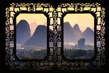 China 10MKm2 Collection - Asian Window - Guilin National Park Photographic Print by Philippe Hugonnard
