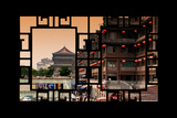 China 10MKm2 Collection - Asian Window - Xi'an Architecture Photographic Print by Philippe Hugonnard