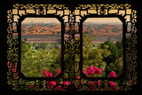 China 10MKm2 Collection - Asian Window - Forbidden City at Sunset - Beijing Photographic Print by Philippe Hugonnard