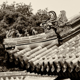 China 10MKm2 Collection - Detail of Lama Temple Photographic Print by Philippe Hugonnard