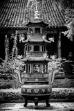 China 10MKm2 Collection - Brazier and Pagoda Metal Print by Philippe Hugonnard