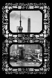 China 10MKm2 Collection - Asian Window - Shanghai Tower Fotodruck von Philippe Hugonnard