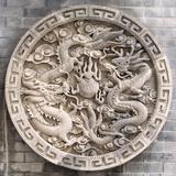 China 10MKm2 Collection - Chinese ancient Sculpture Dragons Fotodruck von Philippe Hugonnard