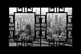China 10MKm2 Collection - Asian Window - Shanghai View Photographic Print by Philippe Hugonnard