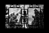 China 10MKm2 Collection - Asian Window - Buddhist Statue Photographic Print by Philippe Hugonnard