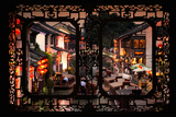 China 10MKm2 Collection - Asian Window - Shantang water Town - Suzhou Photographic Print by Philippe Hugonnard