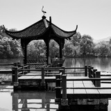 China 10MKm2 Collection - Chinese Pontoon Photographic Print by Philippe Hugonnard