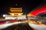 China 10MKm2 Collection - City Lights - Xi'an City Photographic Print by Philippe Hugonnard