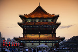 China 10MKm2 Collection - City Night Xi'an Photographic Print by Philippe Hugonnard