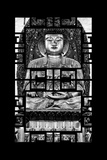 China 10MKm2 Collection - Asian Window - Buddha Photographic Print by Philippe Hugonnard