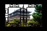 China 10MKm2 Collection - Asian Window - Xi'an Temple Photographic Print by Philippe Hugonnard