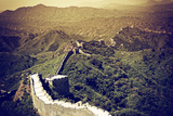 China 10MKm2 Collection - Great Wall of China Metal Print by Philippe Hugonnard