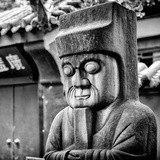 China 10MKm2 Collection - Chinese ancient Statue Photographic Print by Philippe Hugonnard