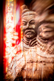 China 10MKm2 Collection - Instants Of Series - Warrior Metalldrucke von Philippe Hugonnard