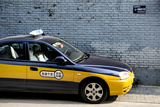 China 10MKm2 Collection - Chinese Taxi Photographic Print by Philippe Hugonnard