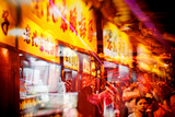 China 10MKm2 Collection - Instants Of Series - Lifestyle FoodMarket Metal Print by Philippe Hugonnard