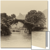 China 10MKm2 Collection - Guilin Yangshuo Bridge Poster by Philippe Hugonnard