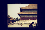 China 10MKm2 Collection - Moment of Life - Forbidden City Metal Print by Philippe Hugonnard