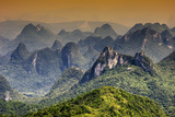 China 10MKm2 Collection - Guilin National Park Metal Print by Philippe Hugonnard