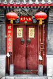 China 10MKm2 Collection - Red Door Photographic Print by Philippe Hugonnard