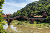 China 10MKm2 Collection - Leshan Giant Buddha Bridge Photographic Print by Philippe Hugonnard