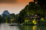 China 10MKm2 Collection - Guilin at night Photographic Print by Philippe Hugonnard