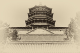 China 10MKm2 Collection - Summer Palace Temple Metal Print by Philippe Hugonnard