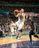 Golden State Warriors v Charlotte Hornets Photographic Print by Kent Smith