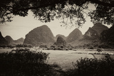 China 10MKm2 Collection - Karst Mountains - Yangshuo Photographic Print by Philippe Hugonnard