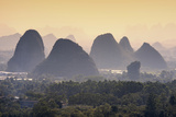 China 10MKm2 Collection - Guilin National Park Alu-Dibond von Philippe Hugonnard
