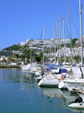 Marina, Puerto Rico, Gran Canaria, Canary Islands Photographic Print by Peter Thompson