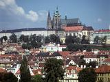 Prague Castle, Prague, Czech Republic Photographic Print by Peter Thompson