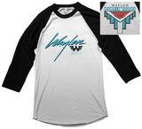 Waylon Jennings- Hangin Tough Raglan (Front/Back) Vêtements