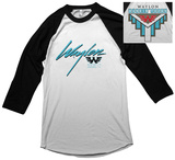 Waylon Jennings- Hangin Tough Raglan (Front/Back) Tričko