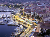 Old Port from the Citadel, Calvi, Corsica, France Photographic Print by Peter Thompson