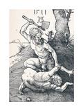 Cain Slaying Abel, 1511 Giclee Print by Albrecht Dürer