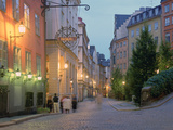 Osterlanggatan, Gamla Stan, Stockholm, Sweden Photographic Print by Peter Thompson