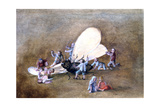 The Cruel Children, C1850-1890 Giclee Print by Stanislas Lepine