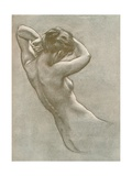 Study for Prospero Summoning Nymphs and Deities, C1902, (1903) Giclee Print by Herbert James Draper