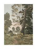From the Watercolour by Henri Harpignies, C1839-1898, (1898) Giclee Print by Henri-Joseph Harpignies