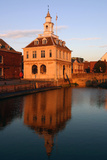 Custom House at Dusk, Purfleet, Kings Lynn, Norfolk Photographic Print by Peter Thompson