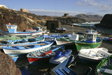 Fishing Boats, El Cotillo, Fuerteventura, Canary Islands Photographic Print by Peter Thompson