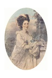 Miss Isabella Hunter, 1781, (1907) Giclee Print by John Downman