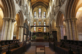 Interior of Hexham Abbey, Northumberland, 2010 Photographic Print by Peter Thompson