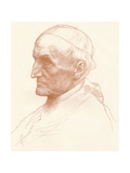 Cardinal Manning, C1857-1903 Giclee Print by Alphonse Legros