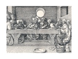 The Last Supper, 1523 Giclee Print by Albrecht Dürer