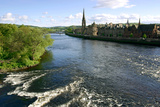 River Tay and Perth, Scotland Photographic Print by Peter Thompson