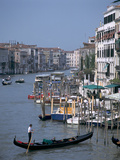 Grand Canal from Rialto Bridge, Venice Italy Photographic Print by Peter Thompson
