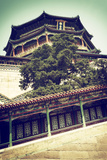 China 10MKm2 Collection - Summer Palace Architecture Metal Print by Philippe Hugonnard