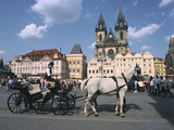 Old Town Square, Prague, Czech Republic Photographic Print by Peter Thompson